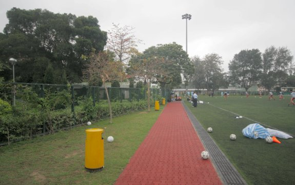 Kowloon Tsai Park Artificial Turf Soccer Pitch