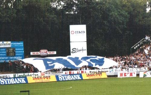 Ikast Stadion - Intro AGF-Fans