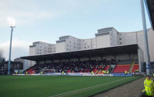 Firhill - North Stand